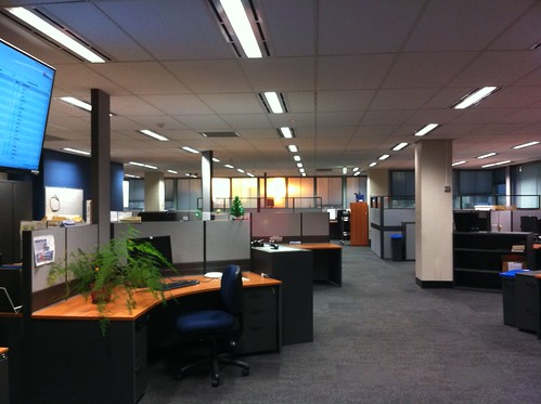 sunrise office interior