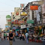 Bangkok, viajefilos en Khaosan Road 17