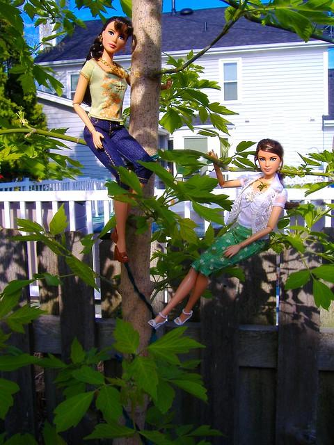 Katniss in garden #2