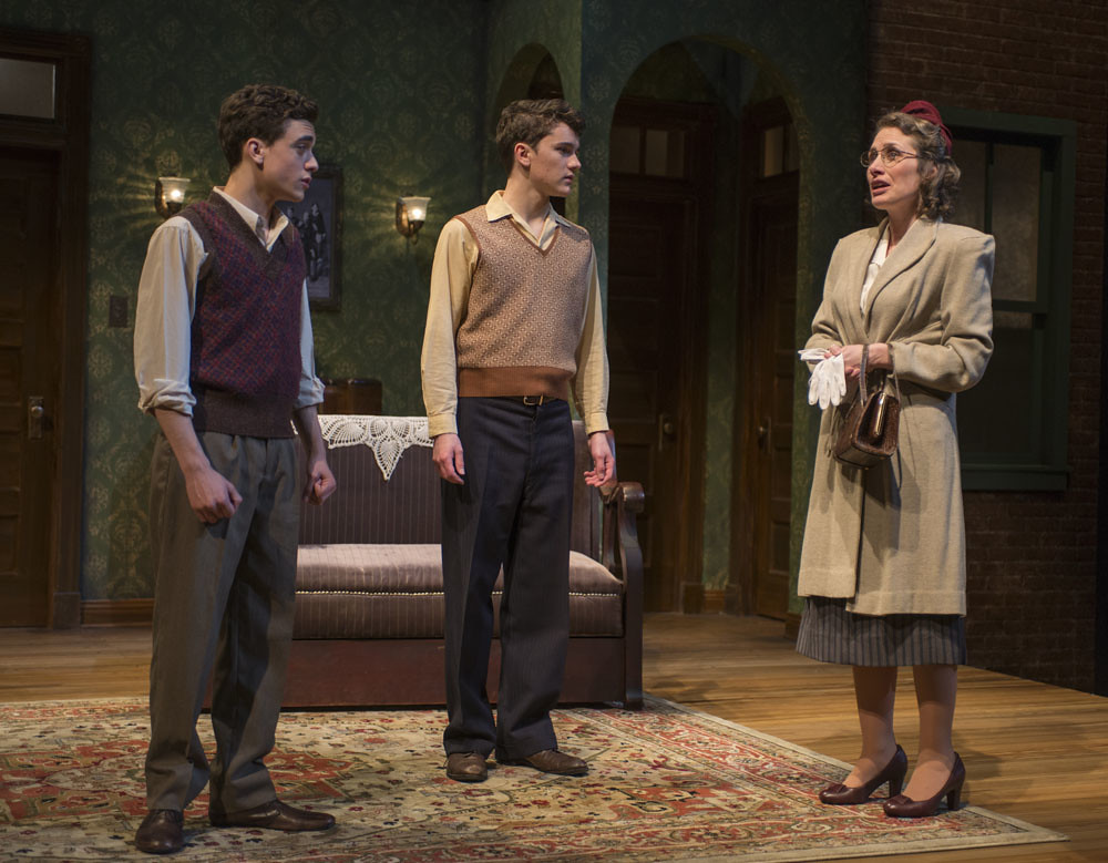 Sebastian W. Weigman (Arty), Alistair Sewell (Jay), and Anne Fogarty (Gert)