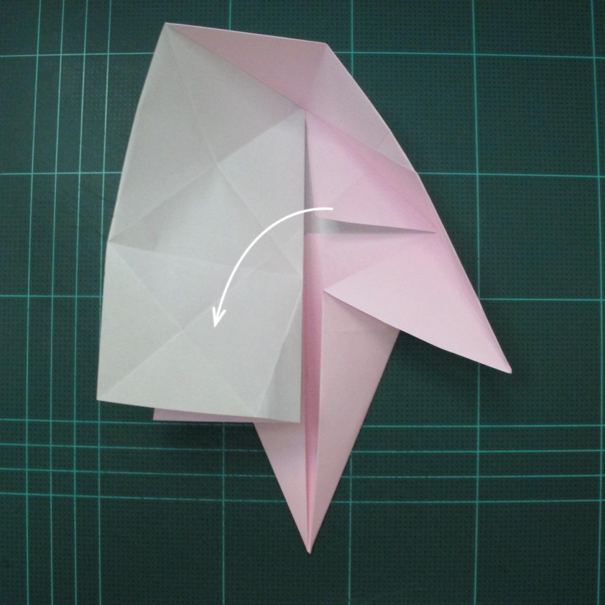 การพับกระดาษเป็นไดโนเสาร์ทีเร็กซ์ (Origami Tyrannosaurus Rex) 011