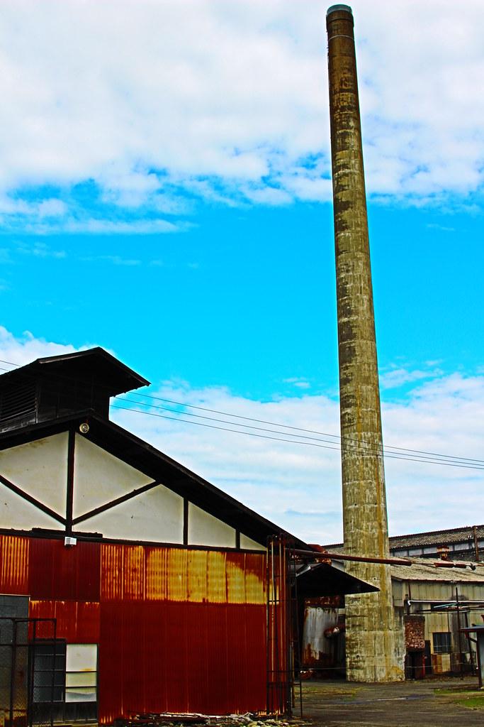 富岡製糸場_乾燥場と煙突