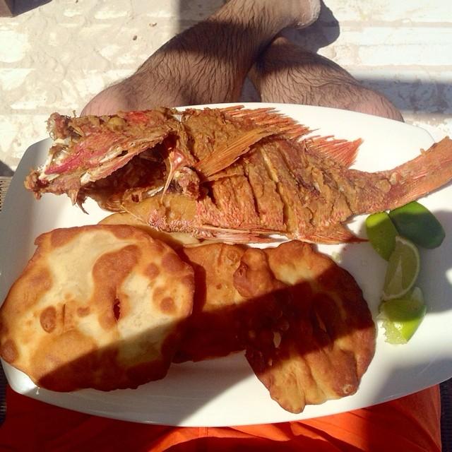 Boca Chica Style Fish Redsnapper Yaniqueque Bocachica Flickr