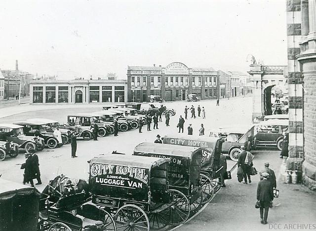 Railway Station, c1922