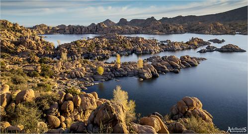 adelheidsphotography adelheidsmitt adelheidspictures america arizona granitedells watsonlake prescott dells morning lake landscape