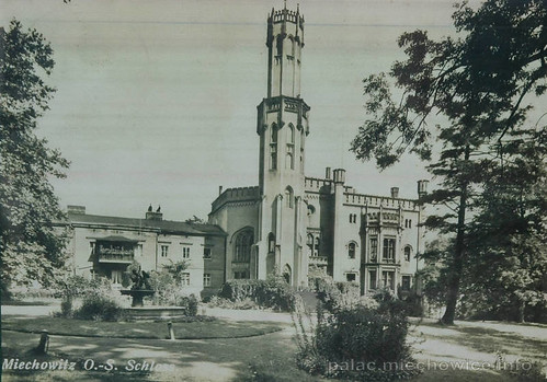 Bytom - Miechowice Palace of Tiele-Wincklers - original | by goldsun19731