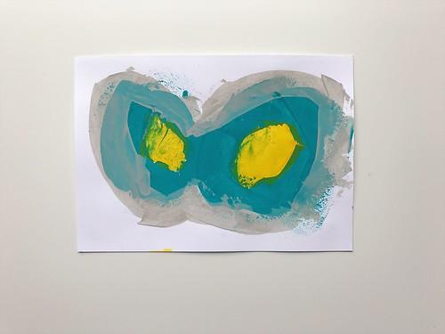 Abstract Painting 3/2017 | by Tamara Hala