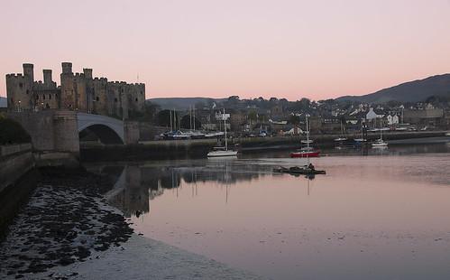 Sunrise Conwy Castle