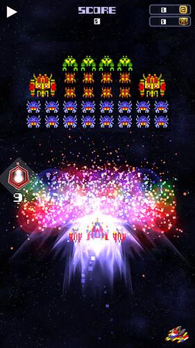 GalaxyBug - un Galaga iper vitaminizzato da provare su Android!