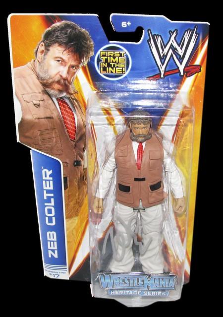 Zeb Colter Autographed WWE Basic Mattel Series 37 Figre