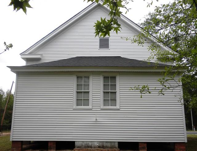 Walnut Grove Church, back