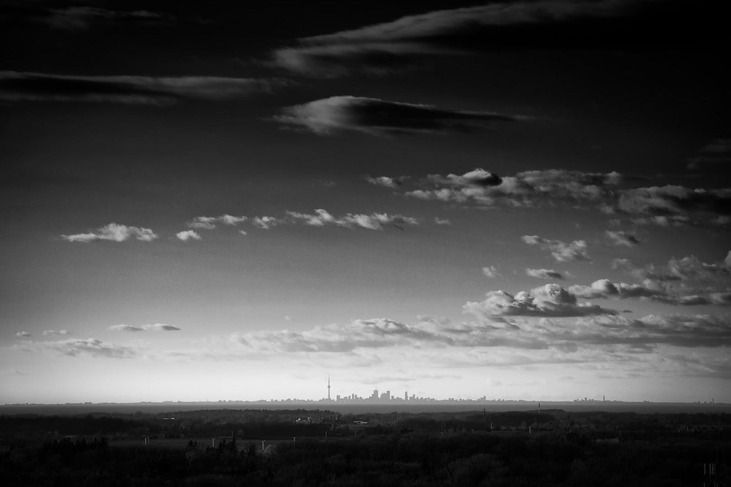 Toronto Skyline from 37 Miles Away
