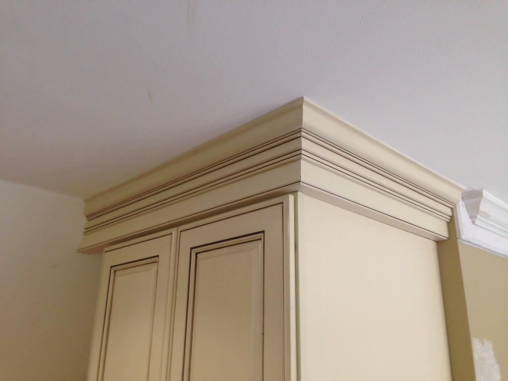 kitchen cabinet crown molding in Richmond Va (1) | The ...
