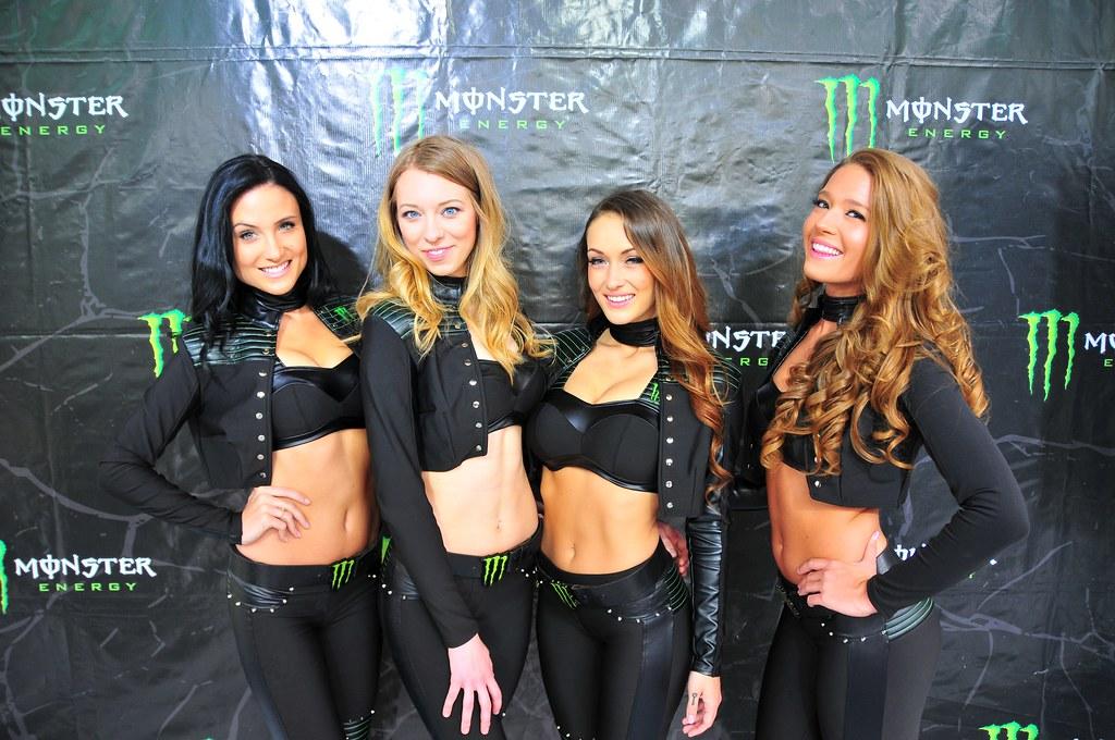 Monster Energy Drink Promo Girls