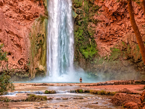 Mooney Falls, Havasupai Indian Reservation, Arizona | by Cwep