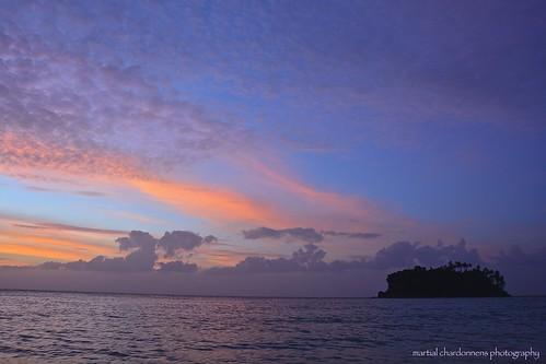 ocean sunset cloud sun mer island philippines nuages tablas