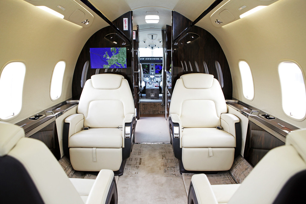 Bombardier Challenger 350 Interior Flightglobal Com Flickr