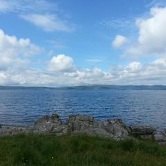 current view (Lochranza, Arran)