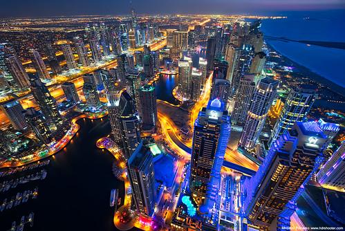 Dubai Marina | by Miroslav Petrasko (hdrshooter.com)