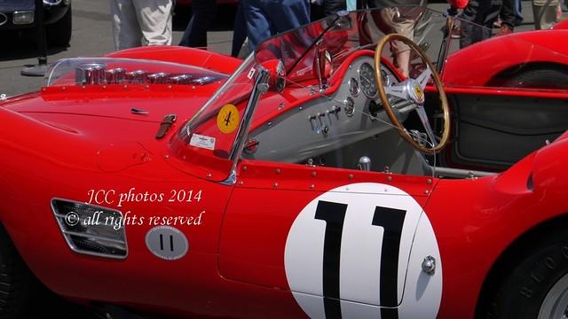 Rallye Ferrari 250 V12 le Mans Classic 2014