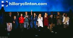 Hillary Clinton and Katy Perry @ The Mann Center Philadelphia 2016 IV