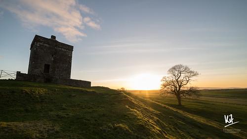2017 dumfriesandgalloway dumfriesshire hoddom january repentancetower samyang14mmf28 scotland sonya7ii landscape sunset winter