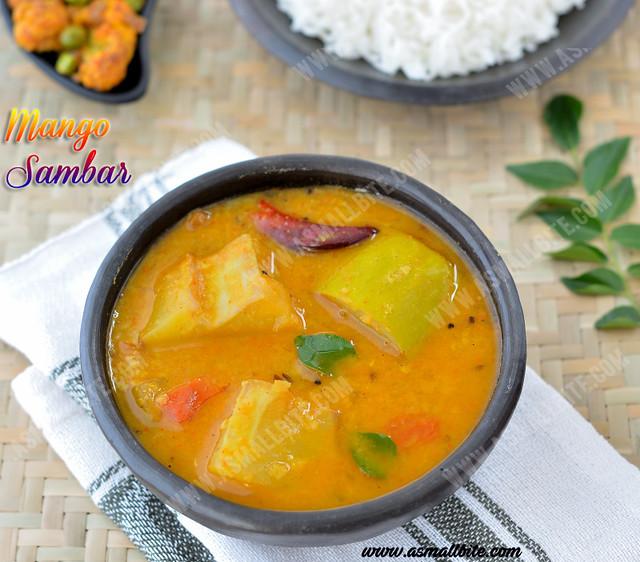 Mango-Sambar-Recipe