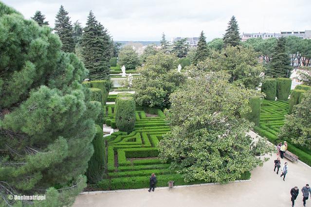 Näkymä Sabatinin puutarhaan