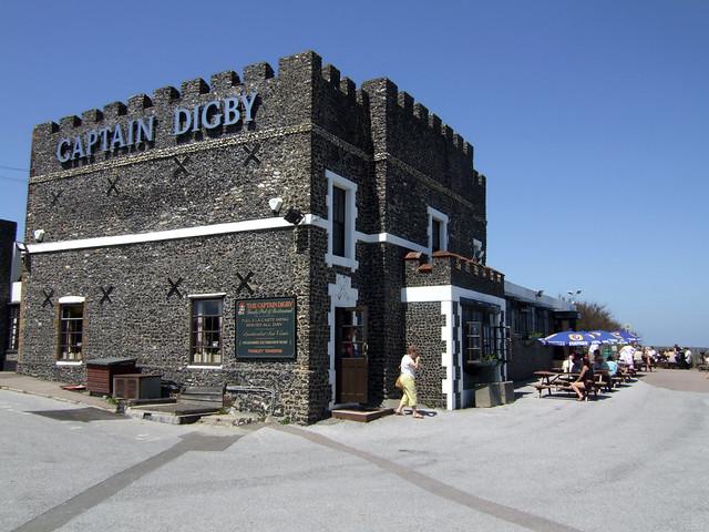 Captain Digby, Kingsgate Bay
