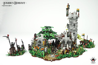 Lord Of The Rings: Eomer's Hideout -  by Barthezz Brick 1 | by Barthezz Brick