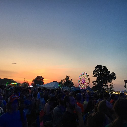 First show! #bonnaroo | by inasnit