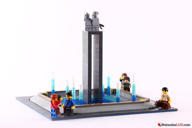Selamat Datang Statue