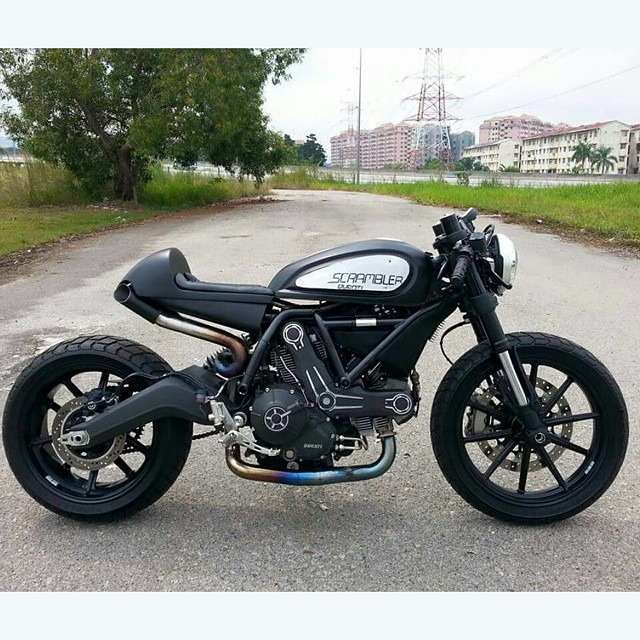 Ready To Ride Ducati Cafe Racer Custom By At Easternbobber Flickr