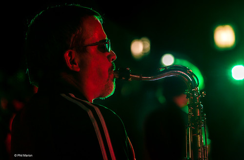 Saxophone player - Beaches Jazz Festival 2015 | by Phil Marion