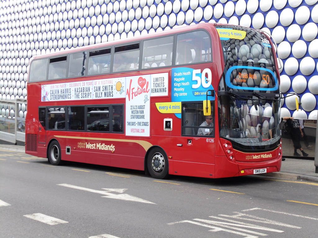 NXWM - SN15 LGV (Verity) | Fleet No: 6126 Bus Name: Verity R