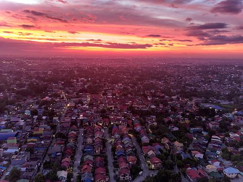 dji djimavic djimavicpro droneshot manila sunset philippines dusk nik color efex pro nikcolorefexpro