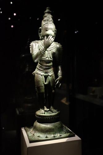 Bronze Hanuman, Asian Civilisations Museum | by Jnzl's Photos