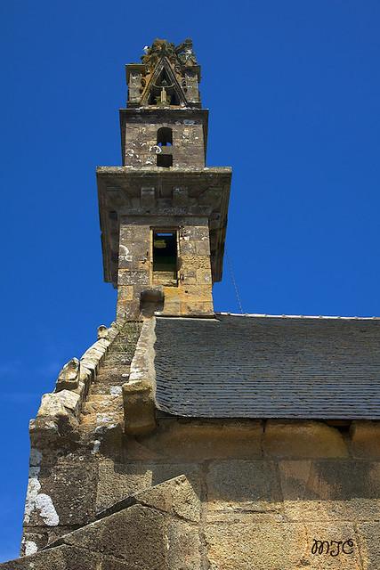 Clocher de la chapelle N. D. de Rocamadour à Camaret...