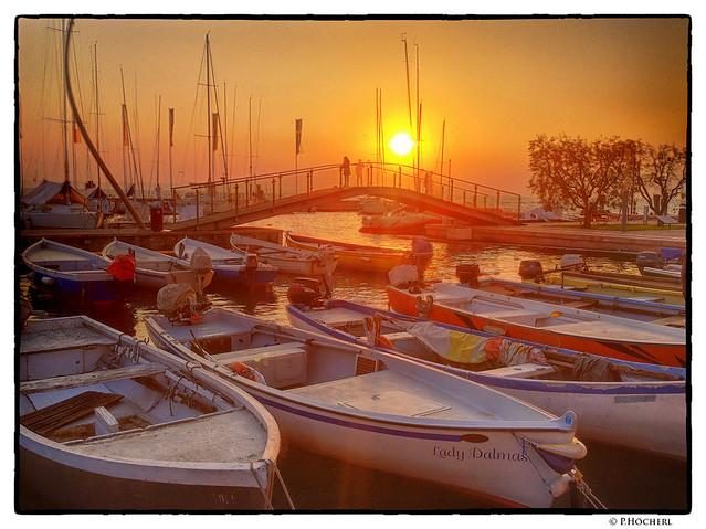 Bardolino harbour
