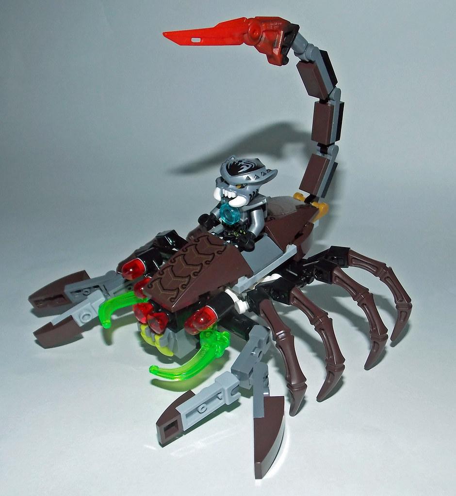привязываю второй смотреть лего чима и скорпион можно почувствовать даже