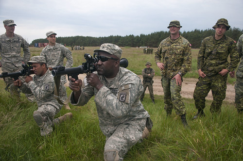 Allied paratroopers hold rocket training in Poland | by U.S. Army Europe