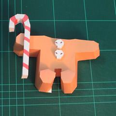 วิธีทำโมเดลกระดาษตุ้กตาคุกกี้รัน คุกกี้ผู้กล้าหาญ แบบที่ 2 (LINE Cookie Run Brave Cookie Papercraft Model Version 2) 020