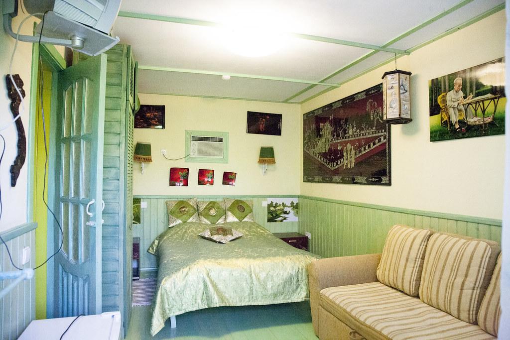 Двухместный улучшенный номер, размещение 2 + 0, с завтраком, отель Баден Баден в Архипо-Осиповке