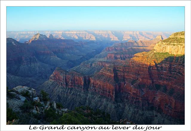 Grand canyon le matin