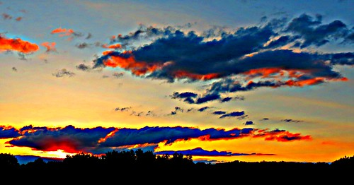 sunset toronto ontario canada heartawards