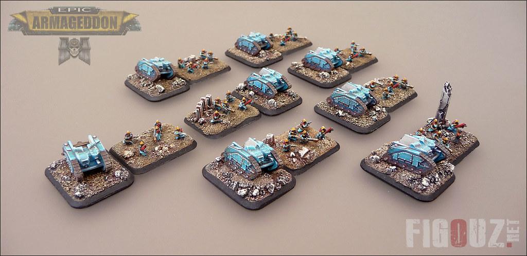 Grenadiers Unit - Death Korps Of Krieg - 6mm miniatures fo… | Flickr
