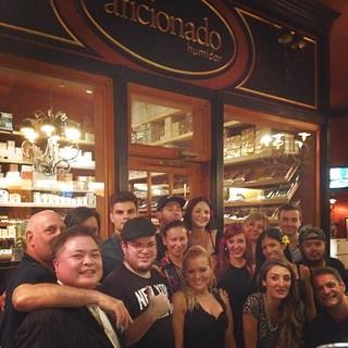 Celebrating Cigar Inn Member Yoeli's Birthday @cigarinn