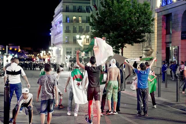Algeria lost in 1/8 round of FIFA World Cup