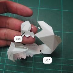 วิธีทำโมเดลกระดาษของเล่นคุกกี้รัน คุกกี้รสพ่อมด (Cookie Run Wizard Cookie Papercraft Model) 005