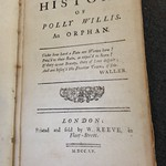 The History of Polly Willis (title page)
